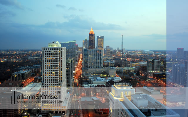 atlantaSKYrise High Resolution Desktop Picture – Midtown Skyline