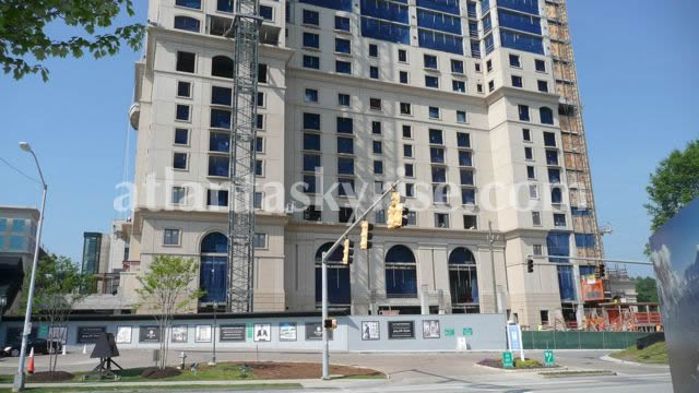 St. Regis Residences Atlanta Speeding Along