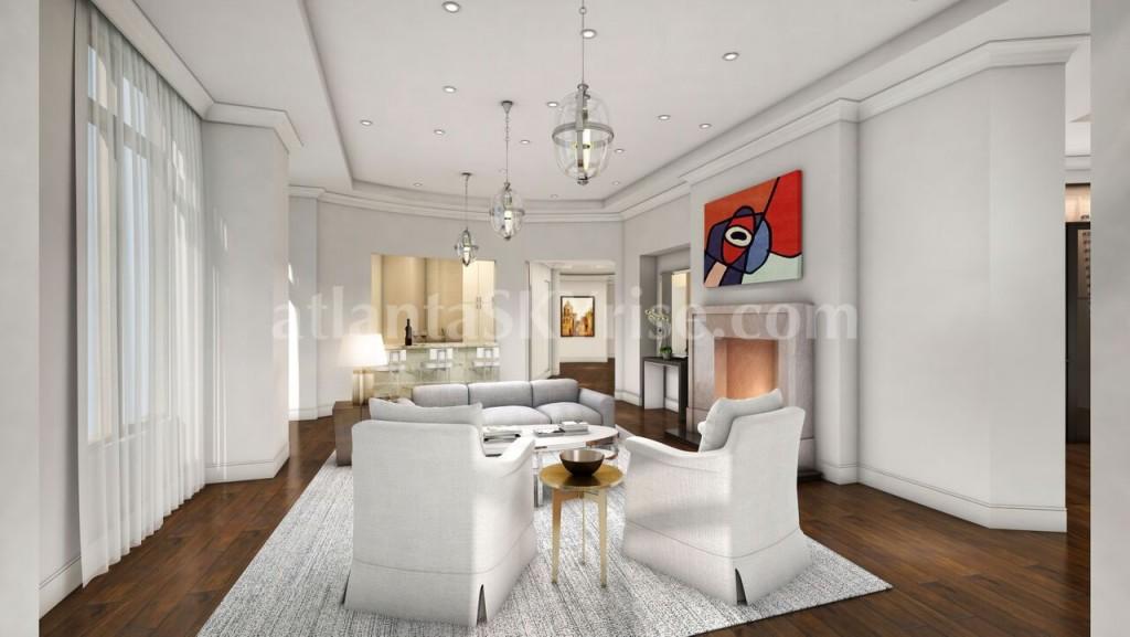 Mandarin Oriental Residences Atlanta Goes Full Throttle and Full Floor