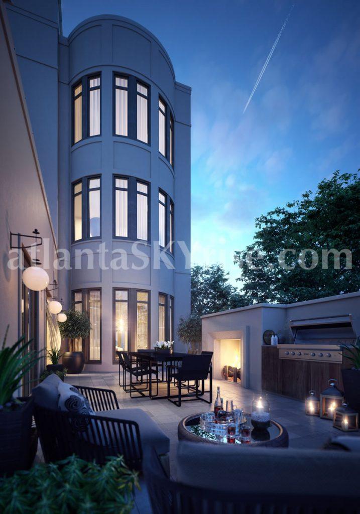 Mandarin Oriental Residences Buckhead Debuts The Maisonettes